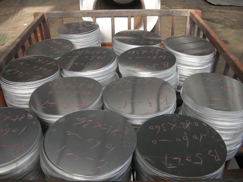 Deep drawing aluminum circle for pizza pan