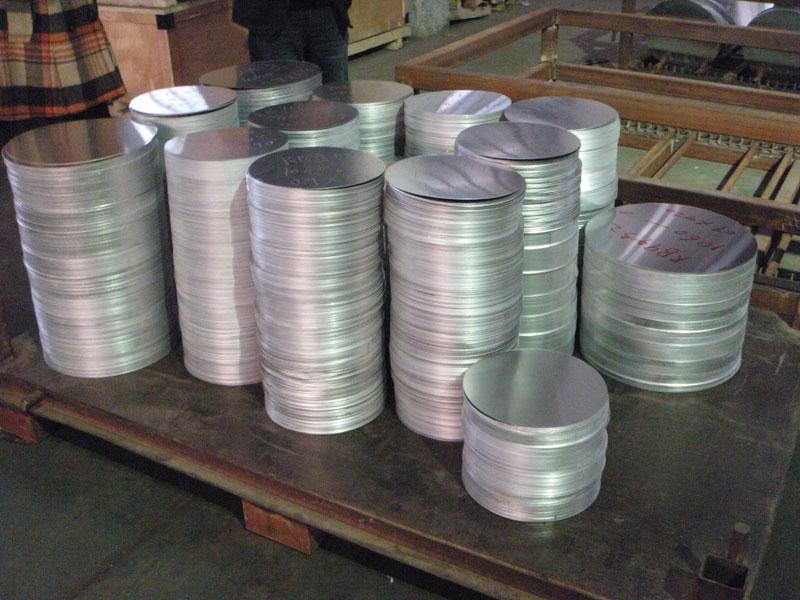 1050 aluminum circles